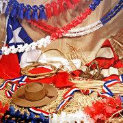 decoración fiestas patrias chile