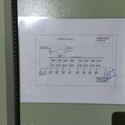 Diagrama unilineal tablero eléctrico mantencion