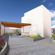 Distribuidores Construmart - Diseño y proyecto Areas Exteriores - Casa Costa Laguna