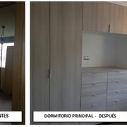 DORMITORIO PRINCIPAL ANTES Y DESPUÉS