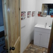 Entrada baño sala quincho