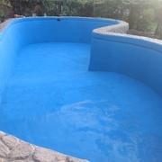 Reparación de piscina que perdía medio metro de agua al día.