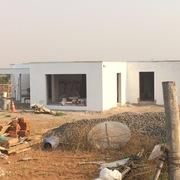 Construcción de casa mediterránea
