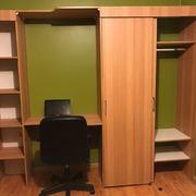 Instalación de closett con escritorio