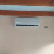 instalacion de unidad interior(evaporadora)