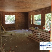 Interior de Recinto proceso de construcción panel SIP