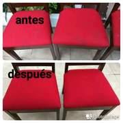 Lavado tapiz de sillas