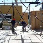 Construcción de Tabiqueria liviana con Aislación y Barrera de Vapor.