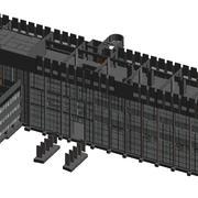 Modelación BIM - Edificio Científico tecnológico y pabellón G1-G2