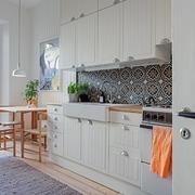 muebles altos en cocina