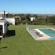 piscina con vistas a Viña del mar