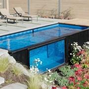 piscina en un contenedor