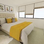 Propuesta deco dormitorio principal