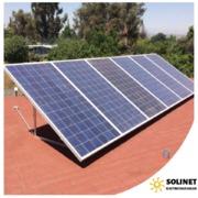 Proyecto realizado en La Florida por Solinet Electricidad Solar ☀️ Sistema On-grid de 2 kVA