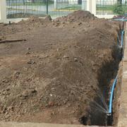 construccion de jardin y riego automatico Ñuñoa