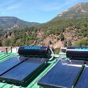 Instalación de 23 termosifones solar en la Región del Bio bio