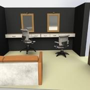 Diseño y decoración de Barbería