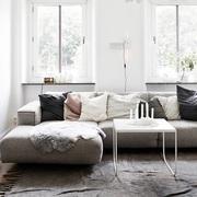 Living con decoración low cost