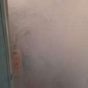 Termonebulización con amonio cuaternario con nano particulas de cobre