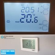 Termostato Touch screen