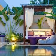 terraza con chill out