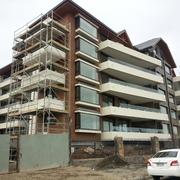 Textura e Hidrorepelente en fachada Edificio Puerto Varas
