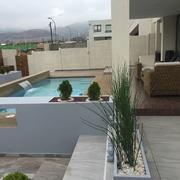 Diseño de Terraza, Paisajismo y Piscina