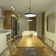 Diseño de cocina casa la reconquista