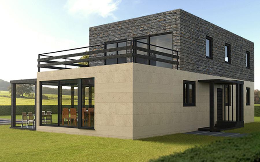 Casas mediterraneas ideas construcci n casa - Casas prefabricadas mediterraneas ...
