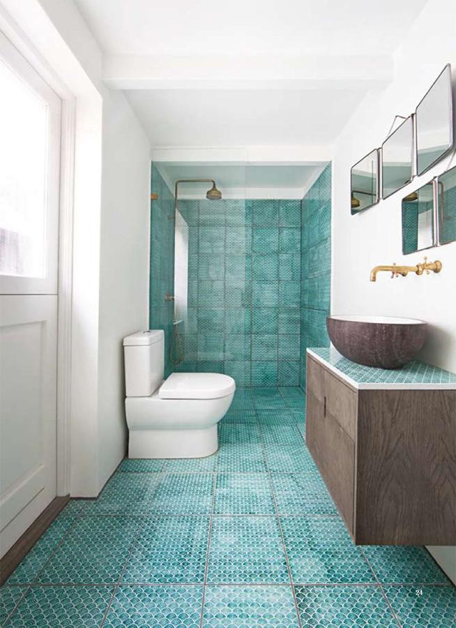 Cubierta de azulejos