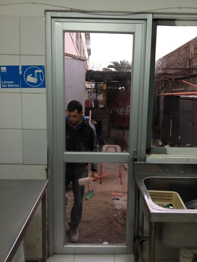 Abertura de Vano e Instalación de Puerta