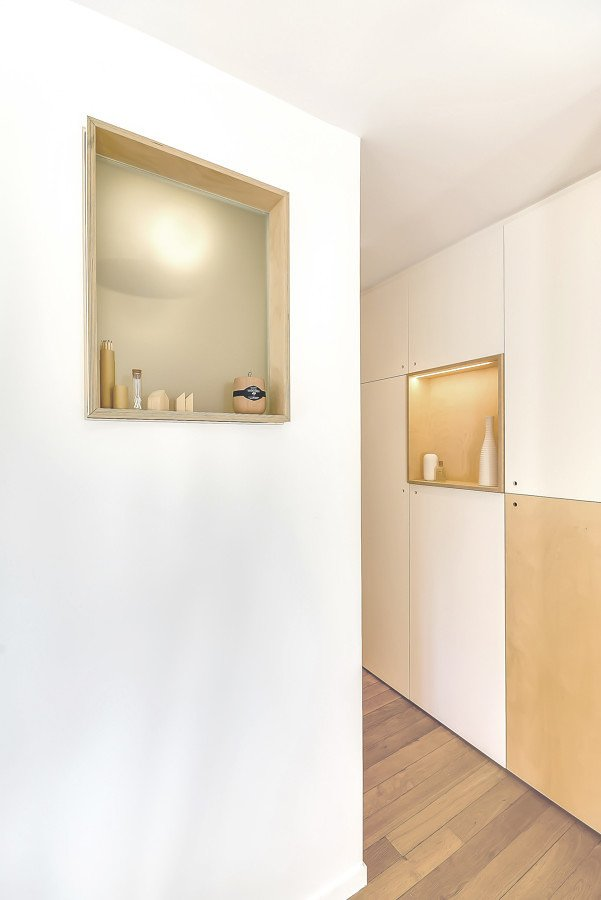 Abertura en pared del baño