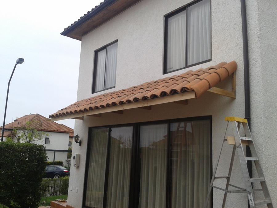 Construcci n de alero ideas remodelaci n casa for Como hacer tejados de madera