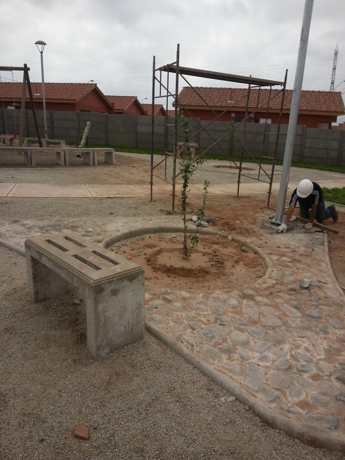 Alumbrado Publico de Áreas Verdes.