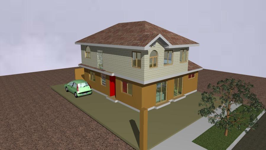 Ampliacion de casas remodelacion de casas vulcometal for Modelo de casa segundo piso