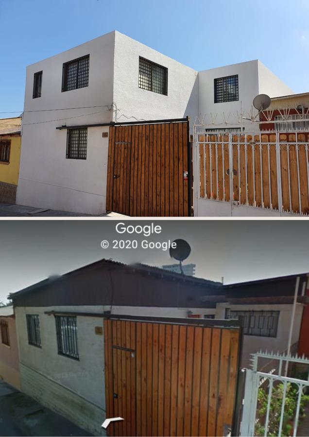 Ante y despues de la construcción