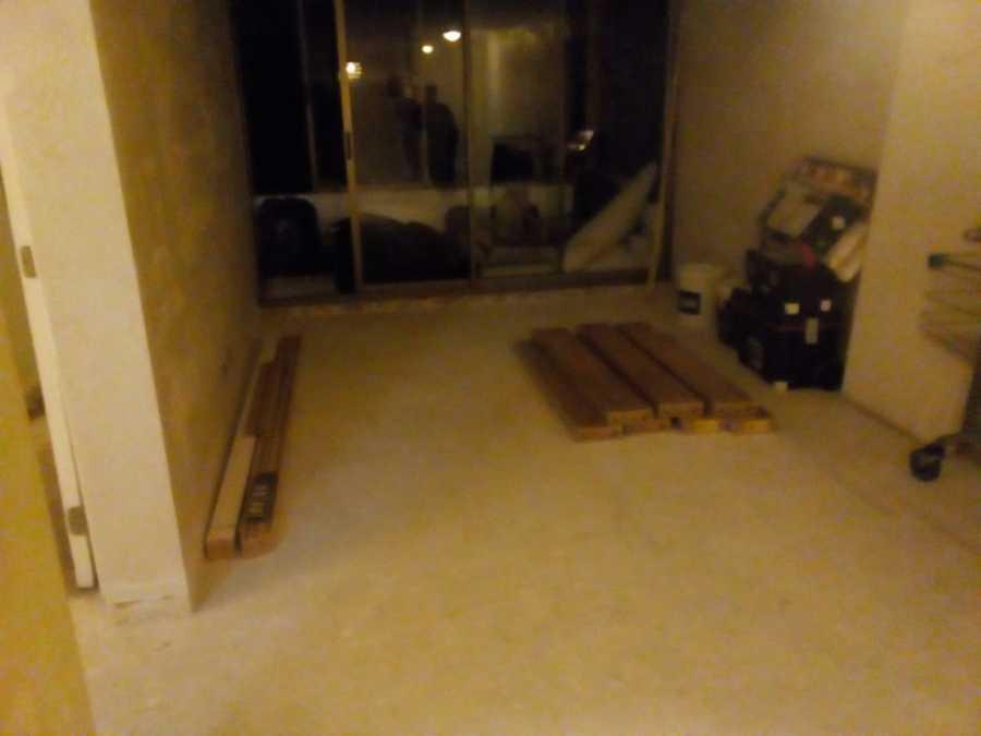 antes (ambientando el piso flotante)