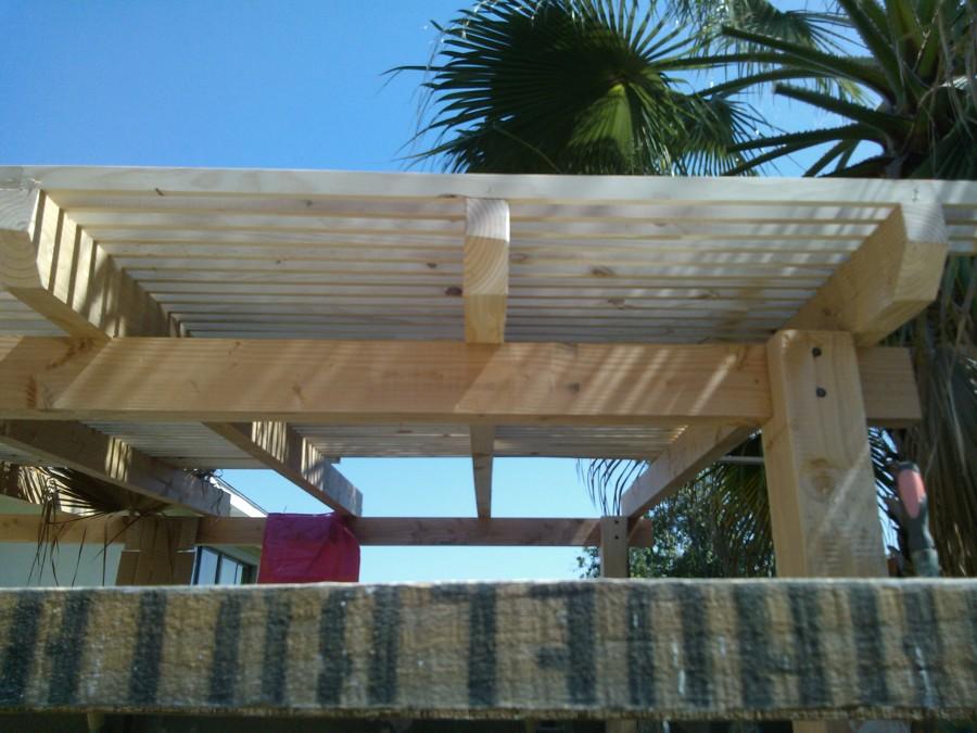 Quincho terraza en pe alolen ideas remodelaci n casa for Como hacer un techo economico