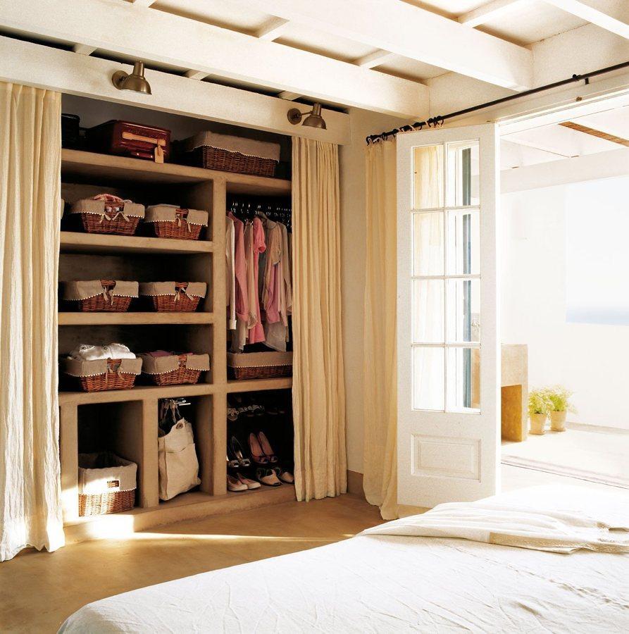closet cortinas