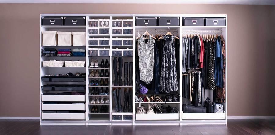 Closet con zapatero
