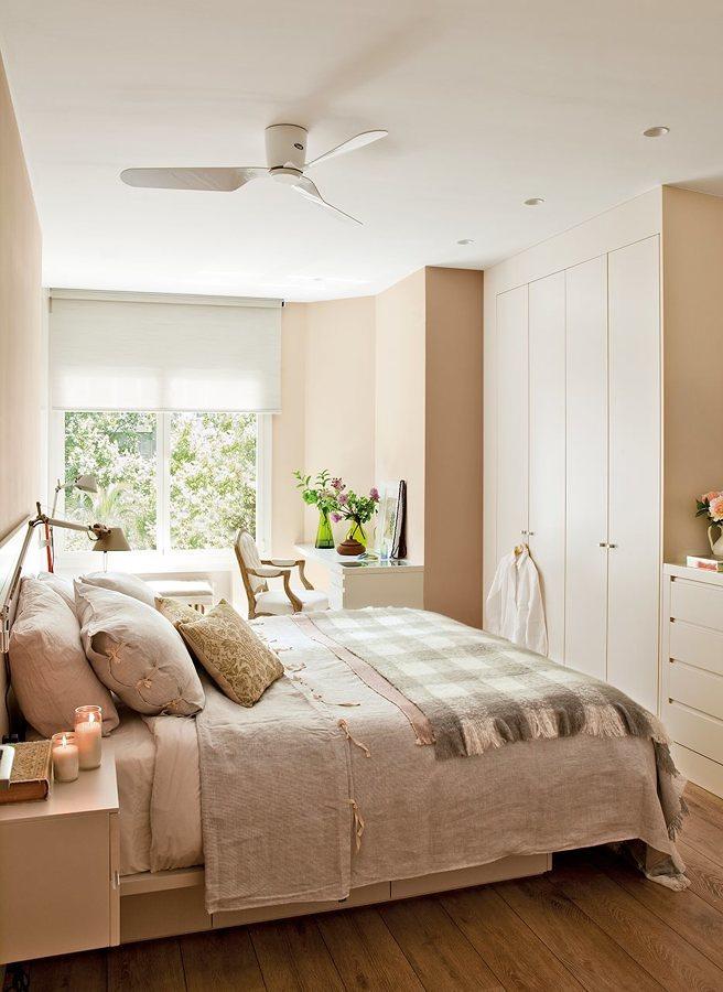 armario empotrado en dormitorio