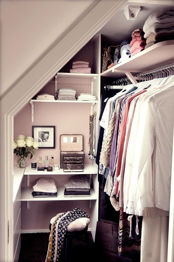 armario en hueco de la escalera