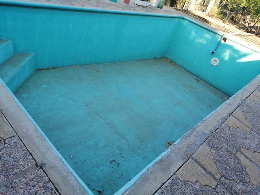 Así se nos entrego la piscina
