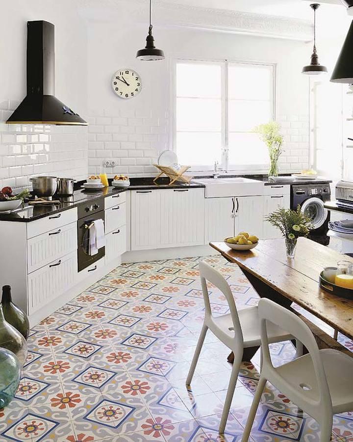 Azulejos en cocina