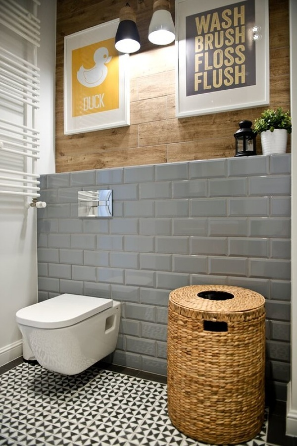 azulejo metro baños