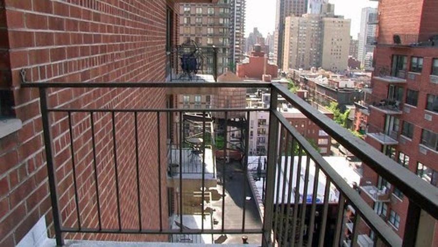 Balcón baranda