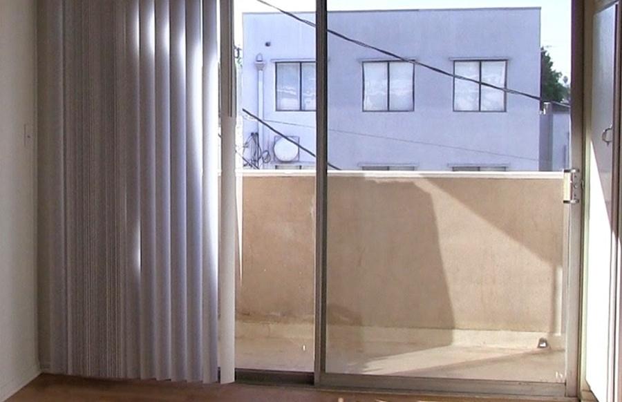 Cierre de balcón antes