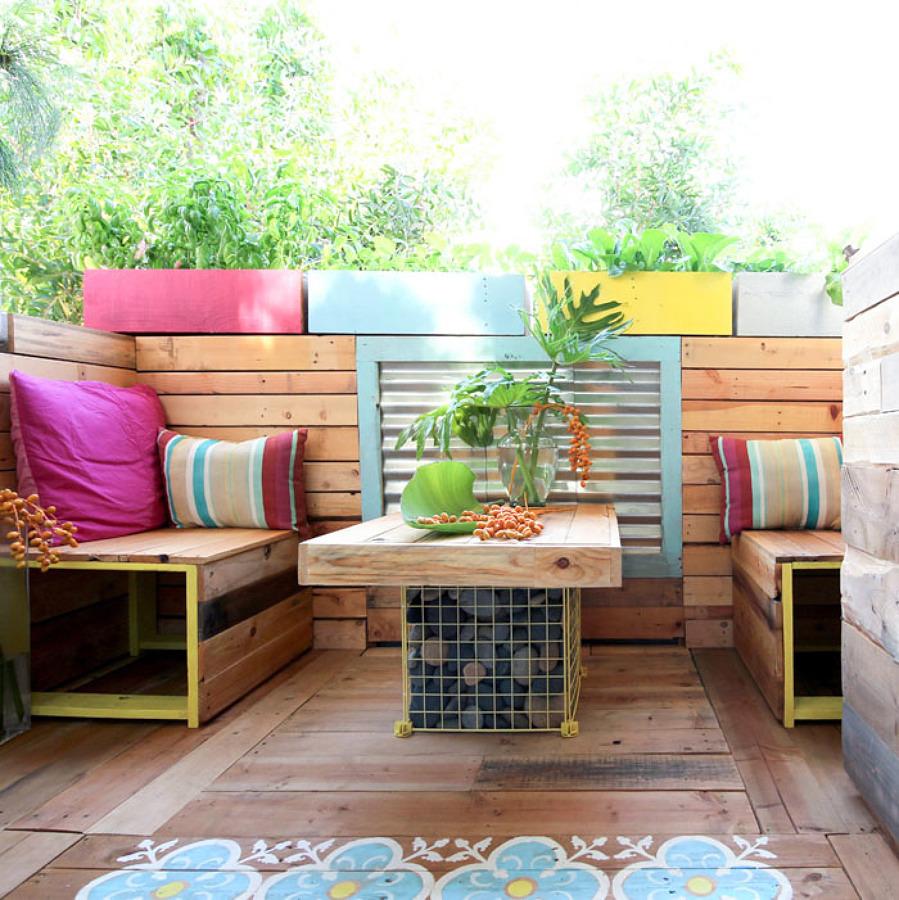 Balcón de colores