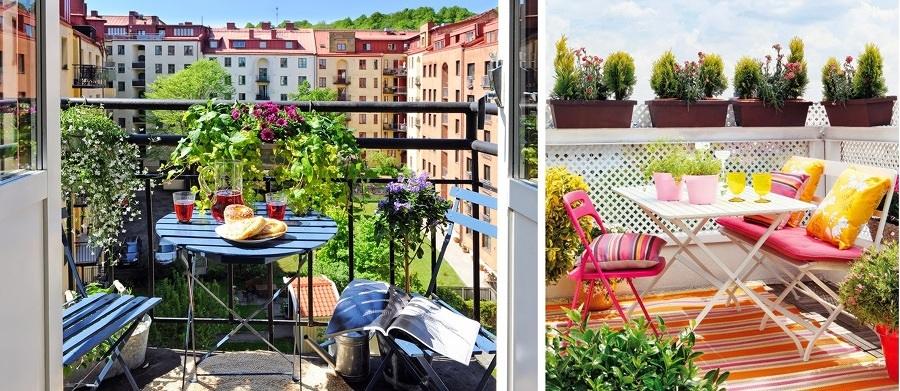 S cale partido a tu peque o balc n ideas remodelaci n casa for Sillones para balcon