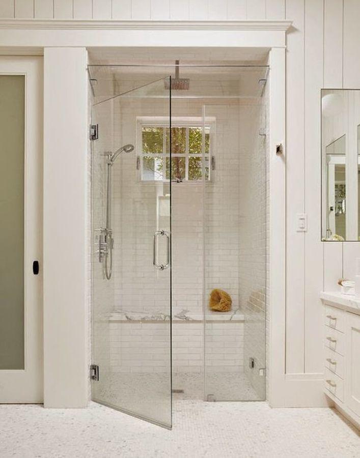 Banco en la ducha